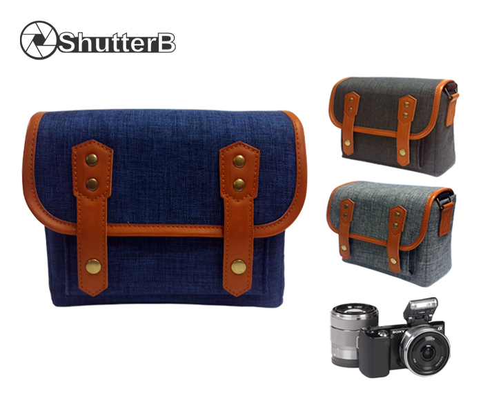 SHUTTER B Mirrorless Camera Case Shoulder Bag