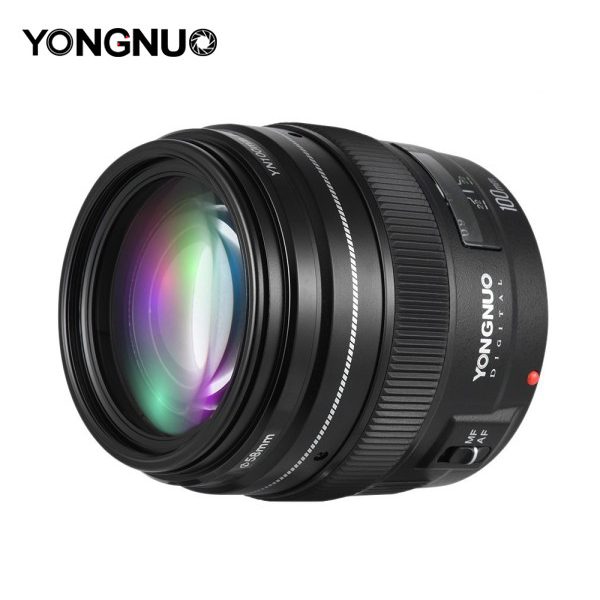 Yongnuo 100mm F2 Lens for Canon EF