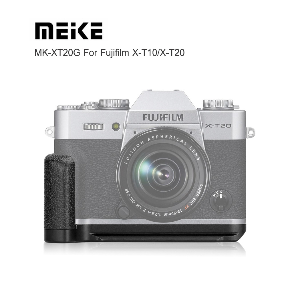 Meike MK-XT20G Metal Hand Grip Holder for Fujifilm XT10 / XT20