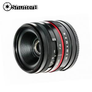 Lens ShutterB 35mm F1.6 for Micro 4/3 Mount Manual Focus