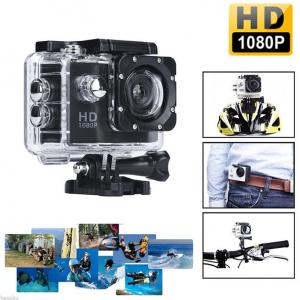 SPORTS Cam 4000E 1080P Full HD Waterproof 30m